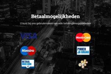 contactloos betalen taxi pinnen of creditcard