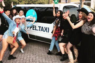 bedrijfsfeestje taxi