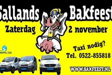 Sallands Bakfeest Dalfsen taxi